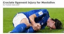 AC米兰队长蒙托利沃十字韧带受伤 赛季报销-前叉之家